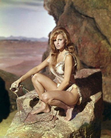 Raquel Welch One Million Years B.C. Color 8x10 Photograph
