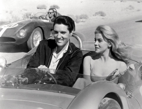 Ann Margret and Elvis Presley Viva Las Vegas Car 8x10 Photograph