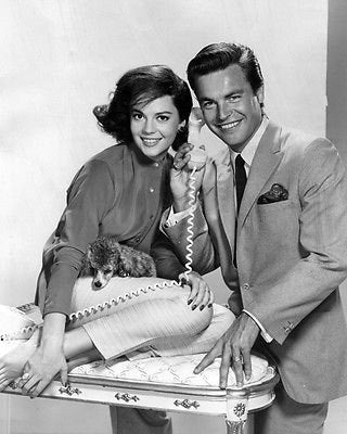 Natalie Wood and Robert Wagner  B/W   8x10 Photograph