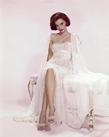 Natalie Wood White Dress Color   8x10 Photograph