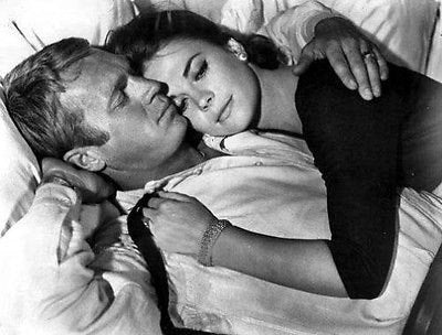 Natalie Wood  And Steve McQueen B/W 8x10 Photograph