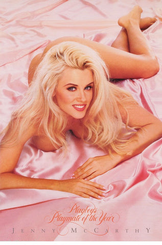 Jenny McCarthy Playboy Playmate of The Year 1994 Color  Rare Poster