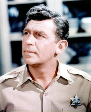 Andy Griffith Show Andy Taylor  Color 8x10 Photograph
