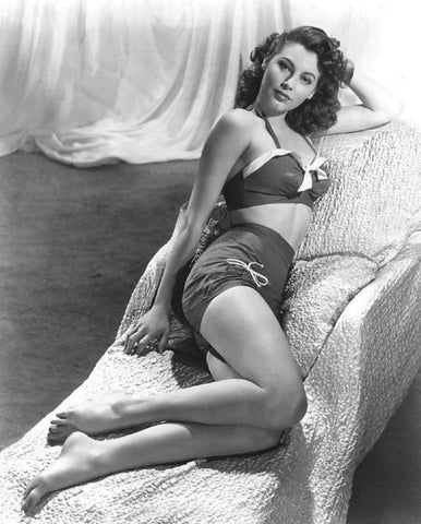 Ava Gardner Swim Suit B/W 8x10 Photograph