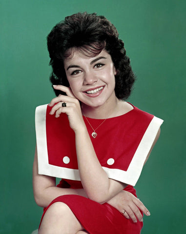 Annette Funicello Color 8x10 Photograph
