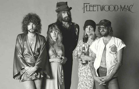 Fleetwood Mac Band Rare Poster