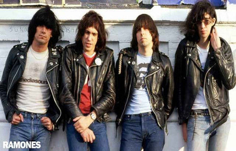 The Ramones Band Rare Poster