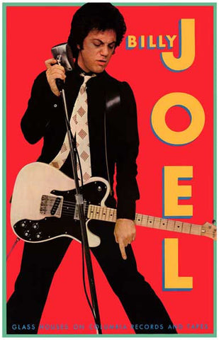 Billy Joel   Rare Poster