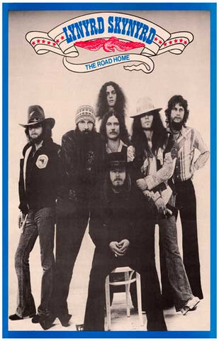 Lynyrd Skynyrd The Road Home Rare Poster