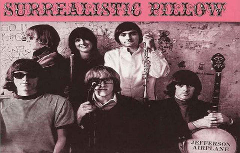 Jefferson Airplane Surrealistic Pillow  Vintage  Poster