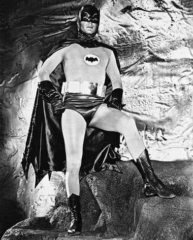 Batman Adam West Bat Cave 8x10 Photograph