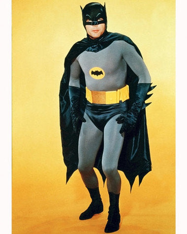 Batman Adam West Color 8x10 Photograph