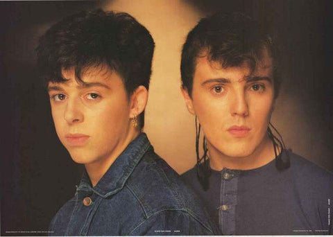 Tears For Fears Band 1983 Rare Poster