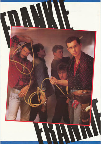 Frankie Goes to Hollywood Relax 1984 Rare Poster
