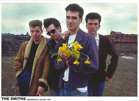 The Smiths Manchester 1983 Morrissey Rare  Poster