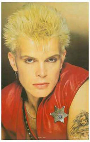 Billy Idol  Rare Poster