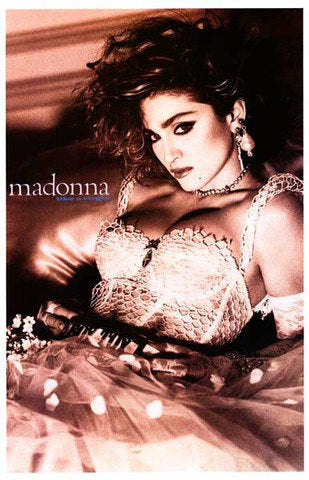Madonna Like A Virgin 1980's  Rare Poster