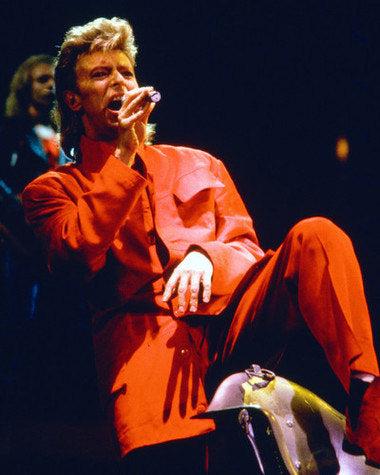 David Bowie Live On Stage  8x10 Photograph