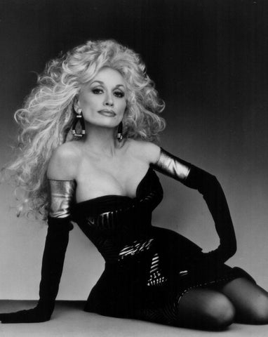 Dolly Parton Black Dress 8x10 Photograph