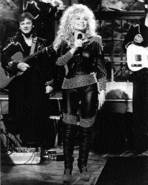 Dolly Parton Black Suit 8x10 Photograph