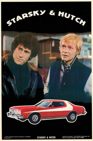 Starsky and Hutch 1976 TV Show Poster