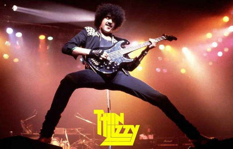 Thin Lizzy Phil Lynott Rare Poster