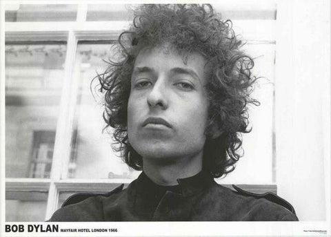 Bob Dylan Mayfair Hotel London 1966  Rare Poster