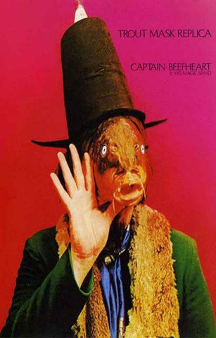 Captain Beefheart Trout Mask Replica Rare Poster