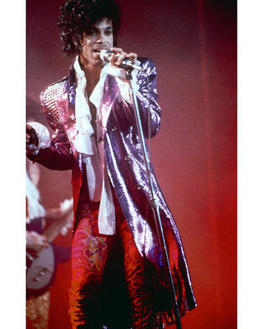 Prince Rogers Nelson Live Color 8x10 Photograph