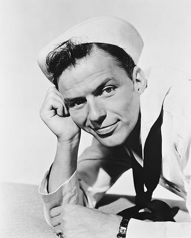 On The Town Frank Sinatra   8x10 Photograph