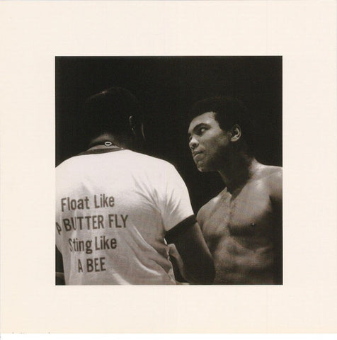Muhammad Ali Float Like A Butterfly  Rare Poster