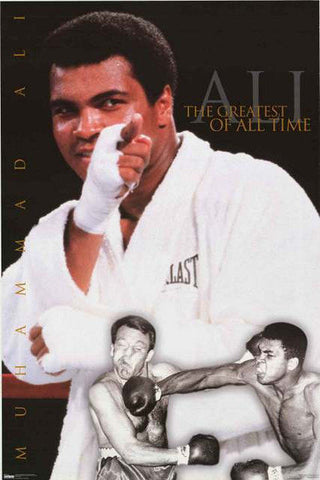 Muhammad Ali Greatest of All Time  Poster