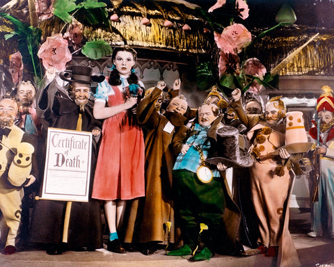Wizard Of Oz Welcome To Oz 8x10 Photograph