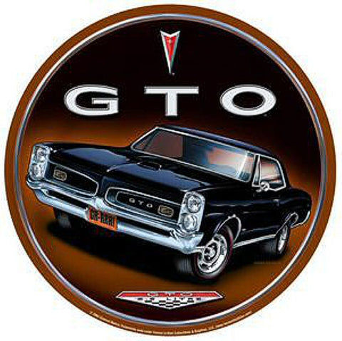 Pontiac GTO Vintage Advertisement Mirror Sign