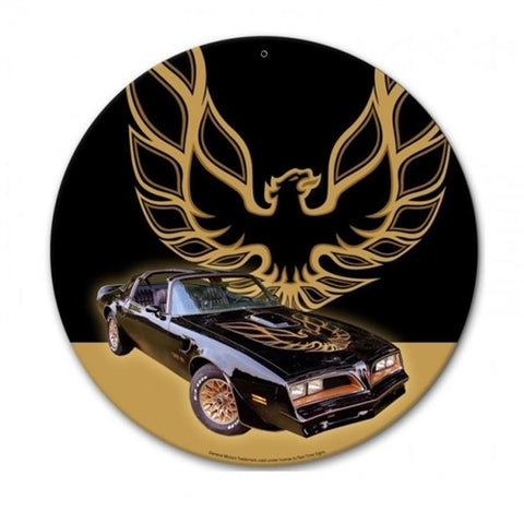 Pontiac Trans Am Vintage Advertisement Mirror Sign