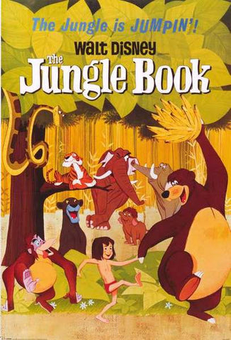 The Jungle Book Disney Movie Poster 24x36