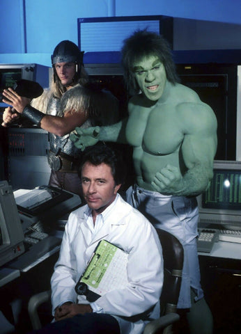 The Incredible Hulk Bill Bixby Lou Ferigno    8x10 Photograph