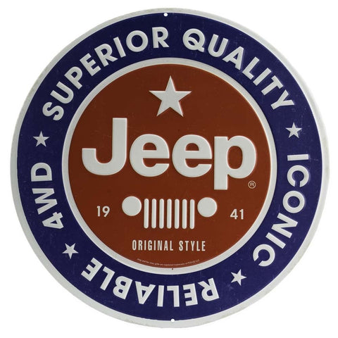 Jeep Superior Quality Mirror Sign