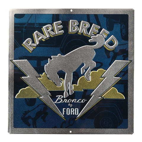 Ford Bronco Mirror Sign