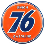 Union 76 Gasoline Mirror Sign