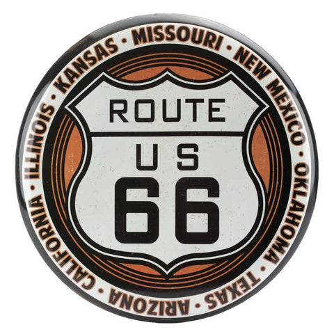 Route 66 Mirror Sign