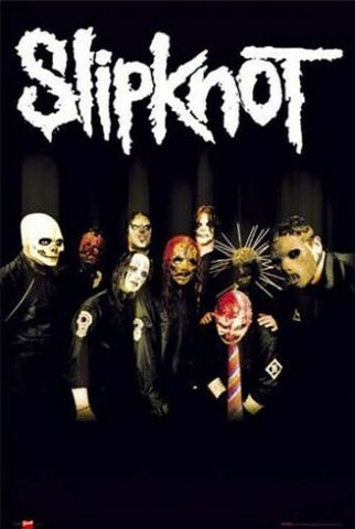 Slipknot Tribal Masks  Poster 24x36