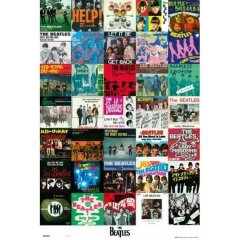 The Beatles Singles Poster 24x36