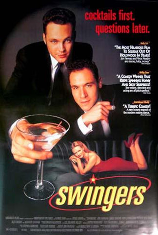 Swingers Movie Poster 27x40