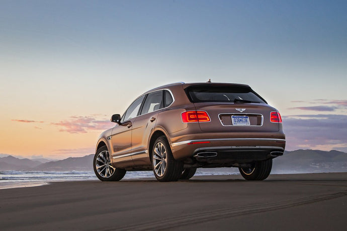 2017 Bentley Bentayga Rental Los Angeles
