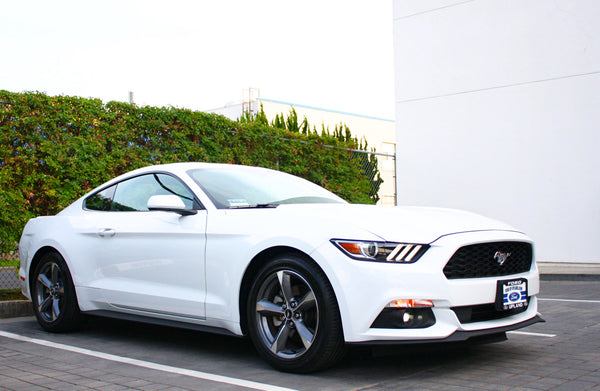 2016 Ford Mustang V6 Blu Car Rental