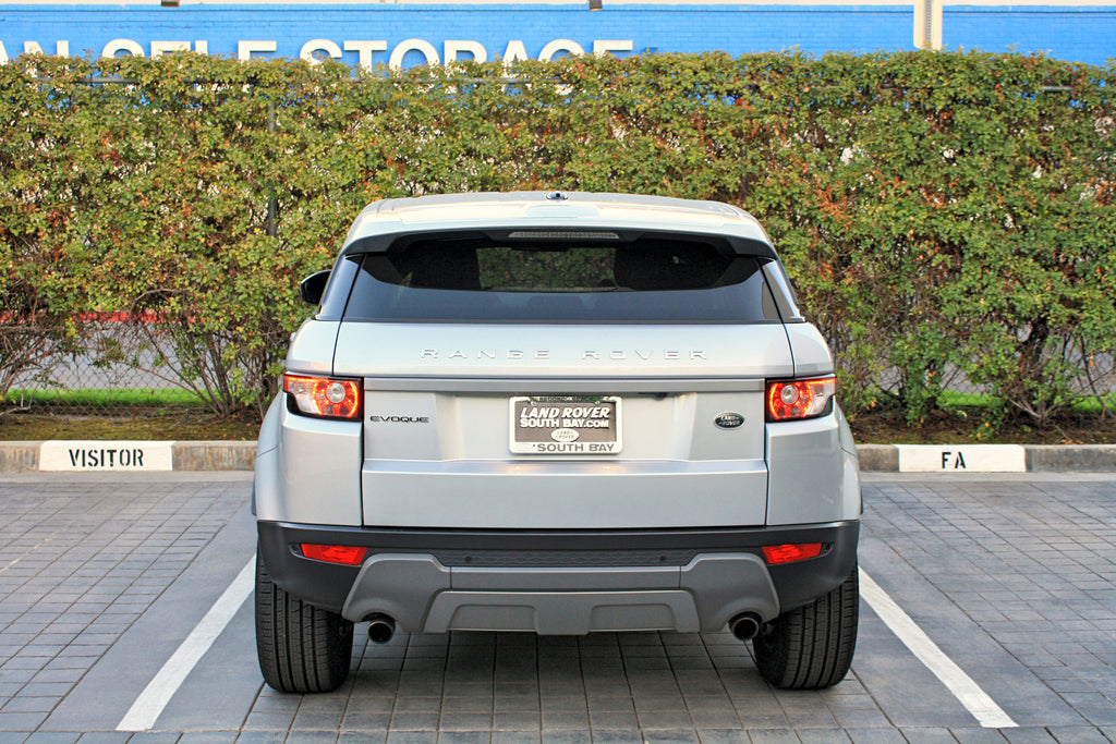 2015 Range Rover Evoque Blu Car Rental
