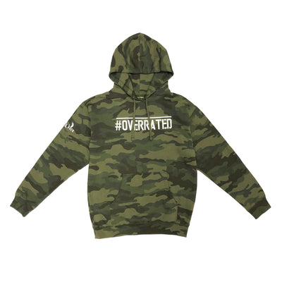 OVERRATED CAMO HOODIE