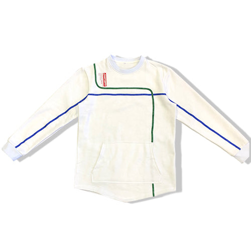 YOUNG WHITE SAGE CREWNECK