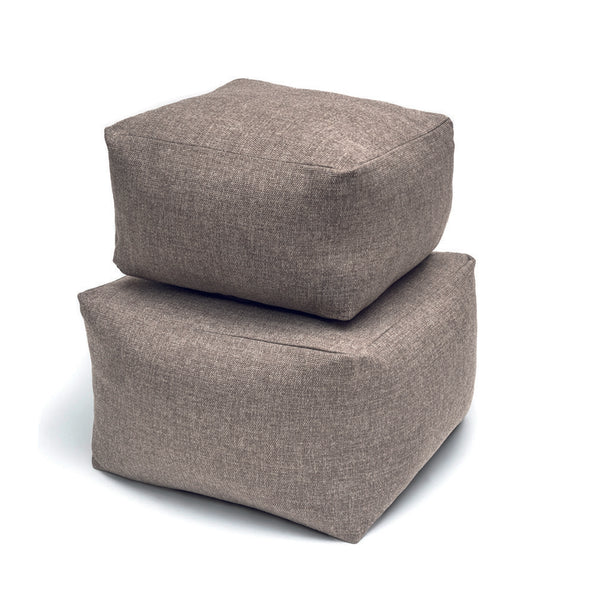SQUARE SOFT POUF (WITHOUT PIPING)